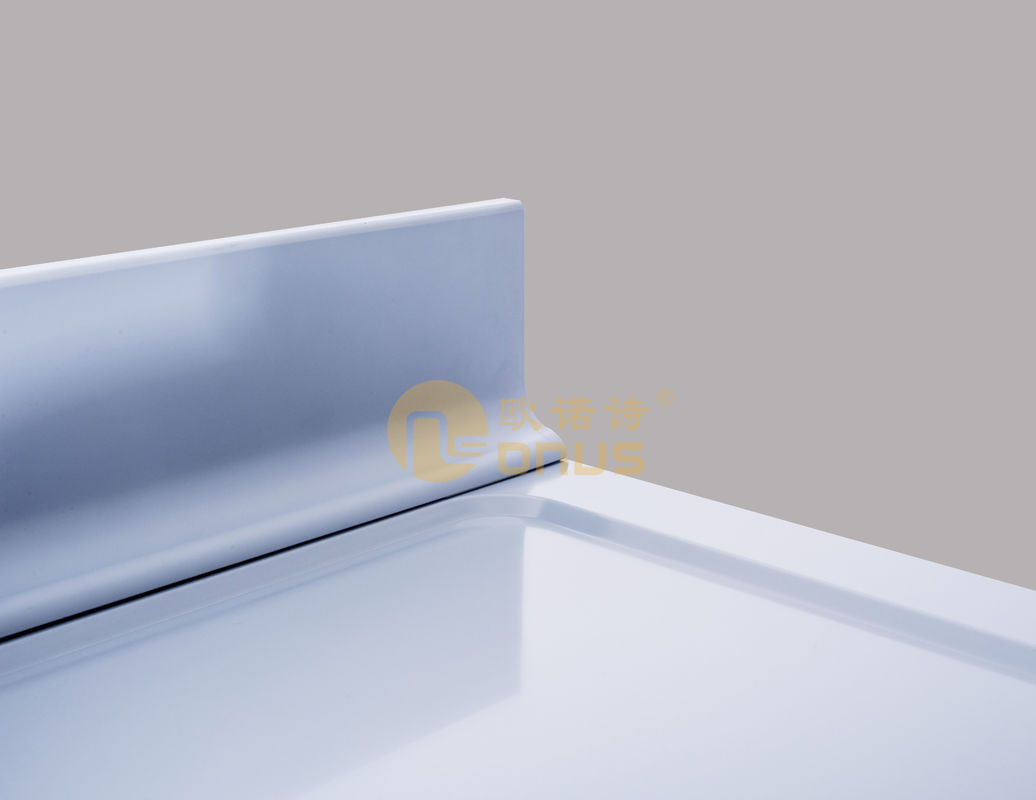 Laboratory Furniture Epoxy Resin Worktop/Countertop With Molded Back Splash